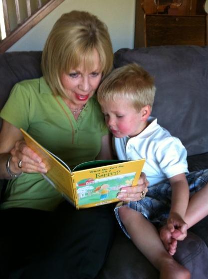 Noah reading